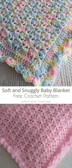 Crochet Baby Blanket Free Pattern, Crochet Stitches Patterns, Crochet Afghans, Free Crochet, Knitting Patterns, Kids Crochet, Baby Blankets To Crochet, Crochet Baby Poncho, Free Baby Blanket Patterns