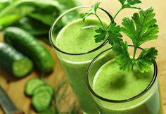 Suco Verde Detox para Emagrecer.