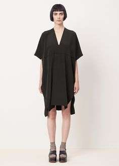 Zero + Maria Cornejo Elie Dress (Black)