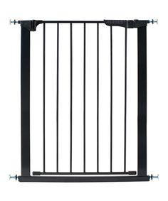Loving this Black Tall & Wide Auto-Close Gateway Pressure-Mount Gate on #zulily! #zulilyfinds