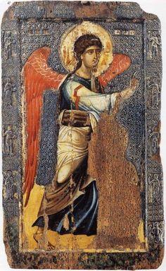 St Michael, Macedonië,The Eastern Orthodox Saints Byzantine Art, Byzantine Icons, Religious Icons, Religious Art, Architecture Art Design, Image Icon, Saint Michel, Archangel Michael, Orthodox Icons
