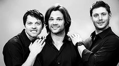 Misha Collins, Jared Padalecki, and Jensen Ackles -- I just really love all three of these dorks