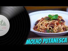Molho Putanesca - Pasta and Roll - YouTube