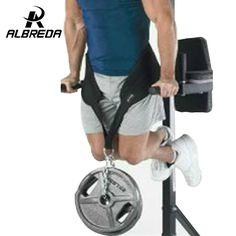 Equipos de Fitness Envío de La Gota Dip Correa del Levantamiento de Pesas Gimnasio Body Cintura Entrenamiento de Fuerza Potencia de Construcción Inmersión Cadena Tire Hacia Arriba