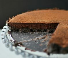 Dark Chocolate Tart