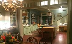 """The Rayburn's colorful kitchen from Netflix's """"Bloodline"""""""