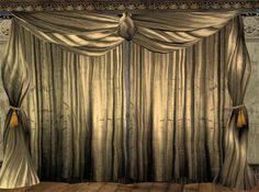 Theatre drapes and curtain - media/theatre room