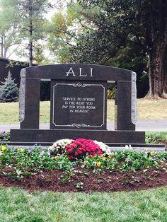 Mohammad Ali~Birth: Jan. 17, 1942 Louisville Jefferson County Kentucky, USA Death: Jun. 3, 2016 Scottsdale Maricopa County Arizona, USA Burial: Cave Hill Cemetery  Louisville Jefferson County Kentucky, USA Plot: Sec. U GPS (lat/lon): 38.24158, -85.71756
