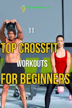 "These 11 CrossFit Workouts for Beginners will make your way to a super fitness lifestyle easier: "" You don't need to get started on advanced WODs right from the start and it is best not to. Instead, pick up the pace with these invigorating workouts. Crossfit Motivation, Crossfit Workouts For Beginners, Crossfit Workouts At Home, Gym For Beginners, Crossfit Gym, Cross Fit For Beginners, Crossfit Women Workout, Crossfit Exercises, Training Workouts"