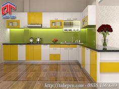 Tủ bếp dạng modul hiện đại thông minh, hợp xu hướng