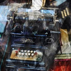 """https://flic.kr/p/AjKajC   Calculation   Created for Art Museion Contest 20 - Revisited Past: www.flickr.com/groups/artmuseion/discuss/72157659445008479/  Old calculating machines on display in a New Smyrna Beach shop window.  Using: """"Poster of Alexander Crystal Seer"""" Licensed under Public Domain via Wikimedia Commons - commons.wikimedia.org/wiki/File:Poster_of_Alexander_Cryst..."""