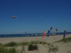 Kite Beach at Presque Isle State Park in Pennsylvania