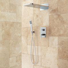 Calhoun+Shower+System+with+Rainfall+Shower+Head+&+Hand+Shower
