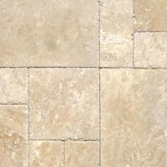 MS International Tuscany Beige Pattern Honed-Unfilled-Chipped Travertine Floor and Wall Tile (5 Kits / 80 sq. ft. / Pallet)-TTBEIG-PAT-HUFC - The Home Depot