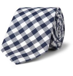 J.Crew Gingham Check Cotton Tie | MR PORTER