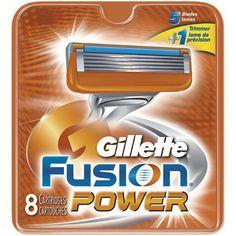 Gillette Fusion Power 8 шт. в упаковке, цена 367,50 грн., купить в #украина #Gillette#Fusion#Power#сменныекассеты#джелет