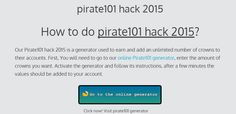 pirate101 hack 2015 | online cheats & generator