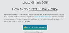 pirate101 hack 2015   online cheats & generator