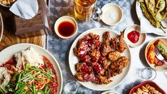 A Korean Fried Chicken Bender in... Korea   Bon Appétit Cooking Fried Chicken, Korean Fried Chicken, Bon Appetit, Chicken Shop, World Recipes, Restaurant Recipes, One Pot Meals, Chicken Recipes, Food Photography