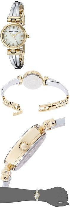 Wristbands 106129: Anne Klein Women S Ak 1171Mptt Two-Tone Bangle Watch -> BUY IT NOW ONLY: $37.05 on eBay!