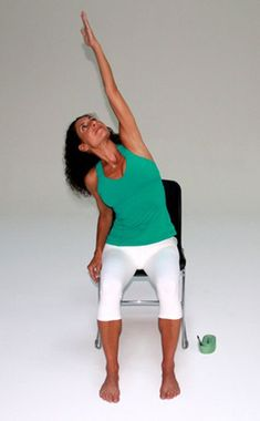 8 Easy Yoga Moves You Can Do at Work: http://www.eonline.com/news/383399/zen-fitness-with-mandy-8-easy-yoga-moves-you-can-do-at-work