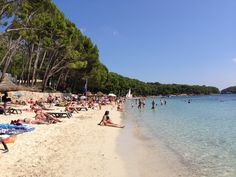 Platja de Formentor en Mallorca