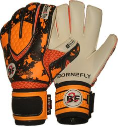 Spotty fluo Orange Giga grip - goalkeeper gloves