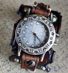 Steampunk Watch Womens Watch Wrist Watch by CuckooNestArtStudio, $112.00