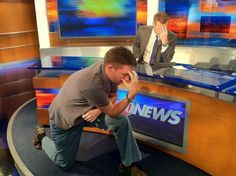 Sometimes you just have to get down and Tebow. www.wtsp.com 10 News, Behind The Scenes