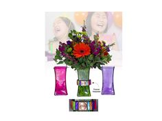 Say Happy Birthday with vibrant colors and sentiment! When you send flowers with the Vase of Life, the memory keeps living after your life event. After the flowers fade away, our Infinite Links can be applied to many home decor items as a forever keepsake of your life event. Simply add an everyday sentiment and …