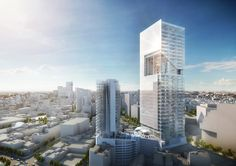 Richard+Meier+Unveils+180-Meter+Tower+Development+in+Mexico