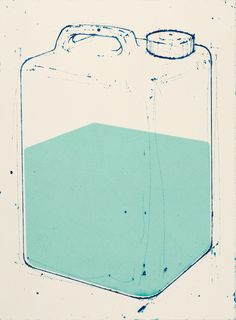 Amze Emmons, Portage, intaglio and silkscreen Neil: Amze Emmons is one of my all time favorite artists and printmakers.