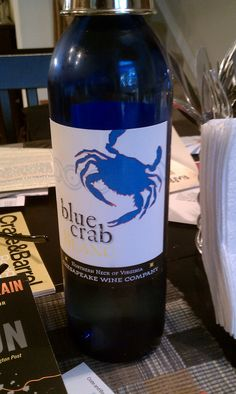 Ingleside blue crab Blanc-- Blue Crab Blanc is a fresh and joyful, easy to drink wine.  Perfect with chicken, seafood and spicy calamari.