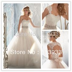 2016 New Arrival Design Elegant Lace Beaded With Crystal Removable Jacket Sleeves Lace Backless Long Wedding Dress Bridal Gown
