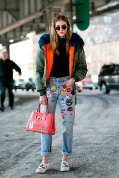 Street Style at New York Fashion Week, a/w 2015 | Fashion, Trends, Beauty Tips…