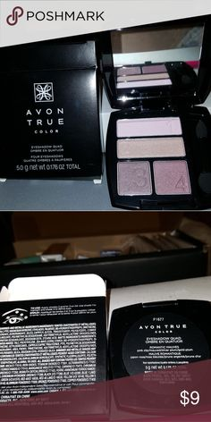 Avon True Color eyeshadow quad Avon True Color eyeshadow quad Avon Makeup Eyeshadow