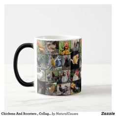#chickens And #roosters , Photo Collage, Magic Morph #mug