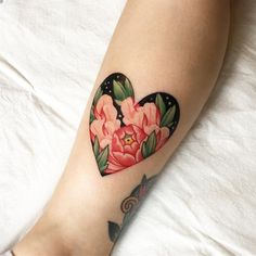 Heart Tattoo Ink | Pinterest: heymercedes
