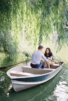 Central Park Row Boats | New York Wedding Photographer Caroline Frost