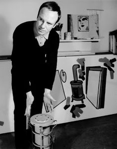 Patrick Caulfield 1936 - 2005 | London, United Kingdom        | Field: painting, printmaking    | Art Movement:Pop Art