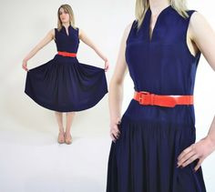 Vintage rockabilly dress swing dance by SHABBYBABEVINTAGE on Etsy, $65.00