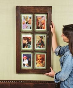 Window-Sash Picture Frame