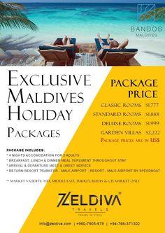 #Maldives #Bandos #Resort Special Package Call us for reservations +960-7905-979 (Maldives) +94-7663-71302 (Sri Lanka)