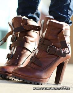 Brown Boots , Do you liked ? - Woman Shoes - Best Collection