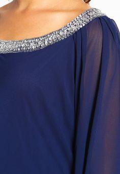 Robe de soiree bleu zalando