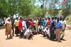 A great picture from our 2 day livelihoods meeting in Karamoja, Uganda