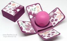 Stampin' Up! Demonstrator Pootles' Way Back Wednesday EOS Balm Box Blooms & Bliss