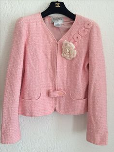 Chanel pink COCO jacket #new in