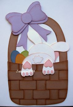 this would be a cute embellishment on an Easter layout