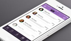 Today's freebie is an iOS7 version of Viber. Free PSD designed by Erdal Bejtula.